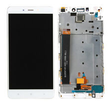For Xiaomi Redmi Note 4 White Glass LCD Display touch screen Digitizer +Frame