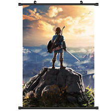 3491 Game The Legend of Zelda no Densetsu Breath of the Wild wall Scroll poster