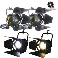 LED light 100W*2+Bi-Color 200W*2 Studio Fresnel spotLight photography Video Film
