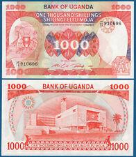 Uganda 1000 shillings 1986 UNC p. 26