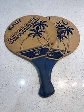 VTG Maui Beach Ball paddles - Hawaiian