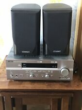 Yamaha RCN-600D Amp And Mission M60i Speakers