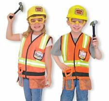 Melissa & Doug Construction Worker Costume Bob the Builder For Boys and Girls
