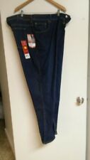 NWT Lee Rider Jeans Size 24W M Relaxed Fit Straight Leg Blue Denim