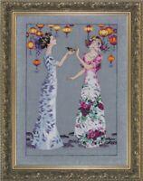 The Garden Party - Mirabilia Designs/Nora Corbett chose chart/embellishments