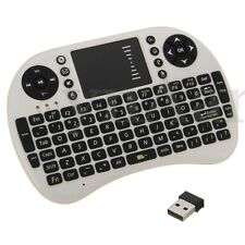 MINI TASTIERA WIRELESS WIFI USB PER TOUCHPAD PC Android SMART TV 2.4GHz RF