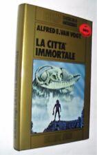 van vogt  LA CITTA' IMMORTALE  nord oro ( 1982) cartonato 1 EDIZIONE