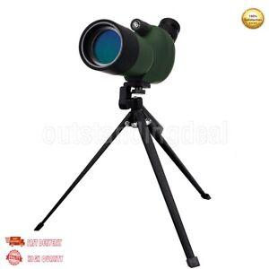 50mm 15-45x Waterproof Zoom Spotting Scope +Tripod for Bird Watching Targeting