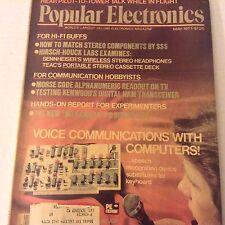 Popular Electronics Magazine Voice Computers Communicate May 1977 071917nonrh