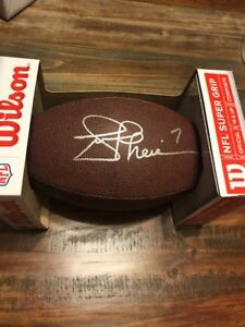 Joe Theismann Washington Redskins Autographed Signed Wilson Football Notre Dame