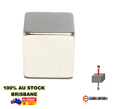4pc Strong 20x20x20mm N40 Cube Block Magnet | Neodymium Rare Earth | Build Model