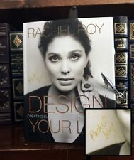 Design Your Life HAND SIGNED by Rachel Roy! Fashion Designer! Beyonce! 1st/1st!