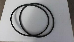 Allen National 68 mower side cutting belts 03932 [ one pair ] [ older model ] .