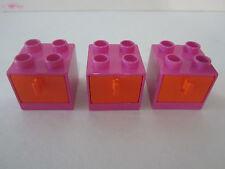 Lego Duplo House Furniture Cabinets Drawers Lot Set    NEW   LAST SET