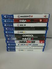 💥 PS4 11 GAME lot Tested and Working. Great Condition! Playstation 4 💥