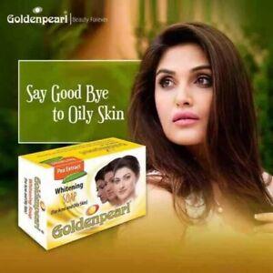 Golden Whitening Soap  Acne & Oily skin - 100% Original USA Whitening Pea Extra