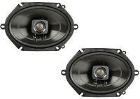 "Polk 5x7"" 225W 2-Way Car/Boat Coaxial Stereo Audio Speakers Marine | DB572"