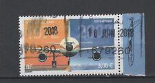 France - PA n° 65 a oblitéré avec bord de feuille illustré