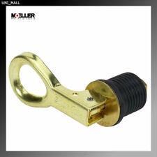Moeller Marine 029000-10 Snap-Tite Boat Bailer Plug (1-Inch, Brass)