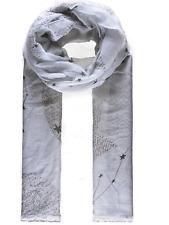 grey constellation star design scarf scarves shawl beach wrap present gift