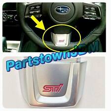 genuine Subaru OEM STi steering wheel trim 2015 / 2016 / 2017 WRX STi VA VAB JDM