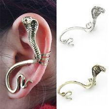 Gothic Cobra Ear Cuff Hook Ear Studs Clip Earrings Wrap Cartilage Jewelr_gu