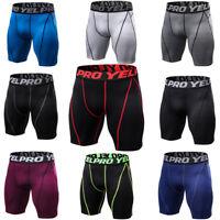 Men's Compression Shorts Skin Fitness Gym Underwear Sports Short Tights Spandex