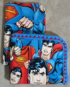 TODDLER/TWIN BLANKET & PILLOW COVER - DC COMICS - SUPERMAN