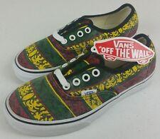 VANS Classics Rasta Van Doren Shoes - Sz: US 4 - NWT [Jamaica, Tribal] A2