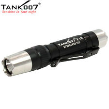 Tank007 E10 120 Lumens 3 Modes CREE Mini Medical Penlight Clip Flashlight Torch