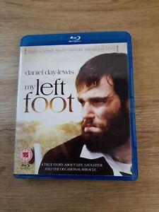 My Left Foot Blu-Ray (2013) Daniel Day-Lewis, Sheridan (DIR) cert 15 pre owned