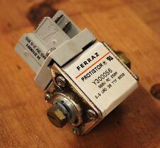 Ferraz Protistor A300056 Fuse Block with W310001 Micro Switch - USED