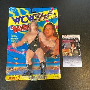 The Giant Big Show Signed Vintage WCW Wrestling Mattel Action Figure JSA COA