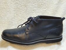 Timberland Stormbuck Lite Ortholite Chukka boots Leather Black UK 10 EUR 44.5