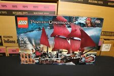 NEW Sealed Box! LEGO 4195 POTC Queen Anne's Revenge Pirates FREE Priority Mail!