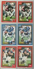 1999 SCORE FOOTBALL GOLD SERIAL CARD LOT #105 Warren Moon 189 Griese 217 Ritchie