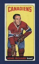 1964-65 Topps Henri Richard #48 (SHORT PRINT) Montreal Canadiens  VGEX !!