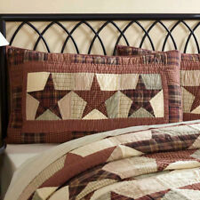 Abilene Star Luxury/King Quilted Pillow Sham by VHC Brands
