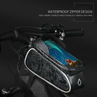 Waterproof MTB Bike Front Top Tube Bike Bag Cycling Phone Holder Case Pouch