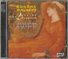 Eugene d'Albert - Die zwei Streichquartette, CD
