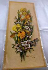 Decoupage Paper Arts Crafts Patricia Nimocks Nip Flowers Prints Transfer Framing