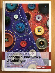I principi di biochimica di Lehninger, Sesta Edizione, Nelson Cox, 9788808261489