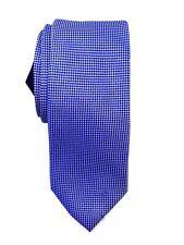 $145 Tommy Hilfiger Men'S Blue Silk Dress Skinny Slim Neck Tie Necktie 56x3