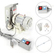 110v Industrial Sewing Machine Clutch Motor Adjustable Speed Energy Saving 600w