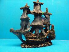 YM861 Sailing Pirate Shipwreck Heavy Aquarium Decoration Hand Painted