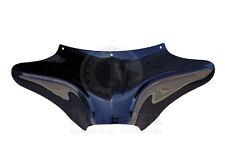 Mutazu Vivid Black Wide Aggressive Batwing Fairing for Harley Softail Road King