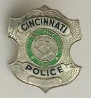 City Of Cincinnati Ohio Police Small Lapel Support Pin Badge Rare Vintage (R1)