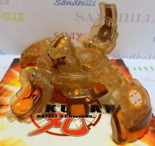 Bakugan Coredem Tan Subterra Translucent Gundalian Invaders DNA 750G & cards