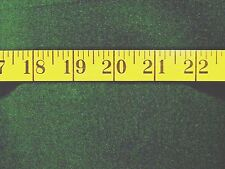 VELVETEEN  GREEN SOLID 100% COTTON FABRIC BY THE  1/2 YARD