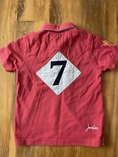 Joules Boys Rugby Shirt Age 4-5